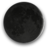 Waxing Crescent, Moon at 3 days in cycle