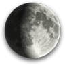 Waxing Gibbous, Moon at 9 days in cycle