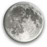 Waxing Gibbous, Moon at 13 days in cycle