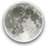 Full Moon, Moon at 15 days in cycle