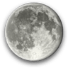 Waning Gibbous, Moon at 16 days in cycle