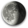 Waning Gibbous, Moon at 20 days in cycle