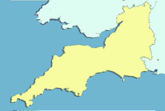 Gloucestershire Weather Map